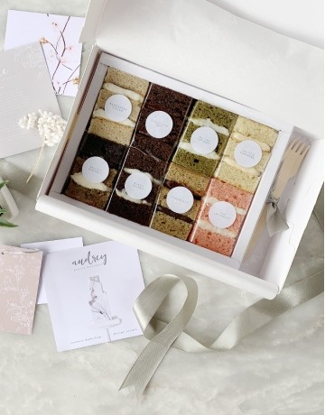 Cake Sampler Box (Audrey's Eight Signature Flavors)