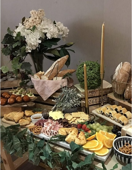 Pastries and Grazing Spread (100-120 pax)